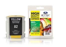 Jet Tec Replacement Yellow Ink Cartridge for C4913A, 69ml