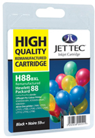 Replacement High Capacity Black Ink Cartridge (Alternative to HP No 88XL, C9396A)