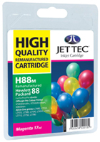 Replacement High Capacity Magenta Ink Cartridge (Alternative to HP No 88, C9392A)