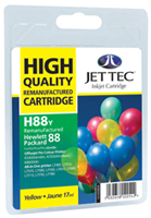 Replacement High Capacity Yellow Ink Cartridge (Alternative to HP No 88, C9393A)