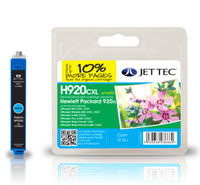 Replacement XL Cyan Ink Cartridge (Alternative to HP No 920XL, CD972AE)
