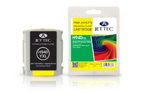 Jettec Replacement High Capacity Yellow Ink Cartridge (Alternative to HP No 940XL, C4909A)