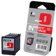 Olivetti IN-506 High Capacity Photo Colour Ink Cartridge, 18ml