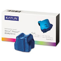 Katun Compatible 4 Cyan Solid Ink Wax Sticks