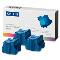 Katun Compatible 3 Cyan Solid Ink Wax Sticks