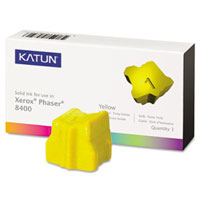 Katun 38706 Compatible 3 Yellow Solid Ink Wax Sticks