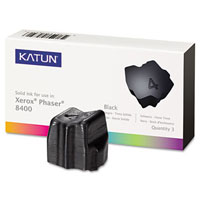 Katun Compatible 3 Black Solid Ink Wax Sticks