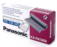 Panasonic Film Ribbon Cartridge, 2 Rolls, 320 Page Yield Each