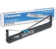Panasonic KX-P170 Black Printer Ribbon Cartridge, 24M Characters