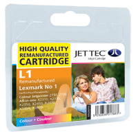 Replacement Colour Ink Cartridge (Alternative to Lexmark No 1, 18CX781E)