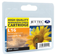 Replacement Black Ink Cartridge (Alternative to Lexmark No 16, 10N0016E)