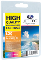 Replacement Colour Ink Cartridge (Alternative to Lexmark No 20, 15MX120E)
