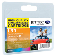 Replacement Photo Colour Ink Cartridge (Alternative to Lexmark No 31, 18C0031E)