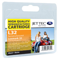 Replacement Black Ink Cartridge (Alternative to Lexmark No 32, 18CX032E)