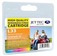 Replacement Colour Ink Cartridge (Alternative to Lexmark No 33, 18CX033E)