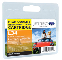 Replacement Black Ink Cartridge (Alternative to Lexmark No 34XL, 18C0034E)
