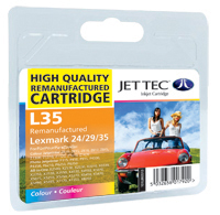 Replacement Colour Ink Cartridge (Alternative to Lexmark No 35XL, 18C0035E)