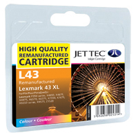Replacement Colour Ink Cartridge (Alternative to Lexmark No 43XL, 18Y0143E)