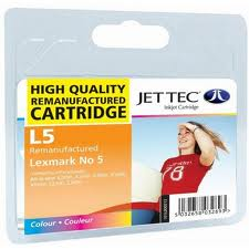 Replacement Colour Ink Cartridge (Alternative to Lexmark No 5, 18C1960E)