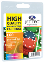 Replacement Colour Ink Cartridge (Alternative to Lexmark No 60, 17G0060E)