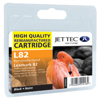 Replacement Black Ink Cartridge (Alternative to Lexmark No 82, 18LX032E)