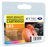 Replacement Colour Ink Cartridge (Alternative to Lexmark No 83, 18LX042E)