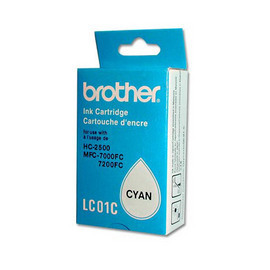 Brother LC01 Cyan Cartridge 9667
