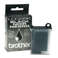 Brother LC-02BK Black Ink Cartridge