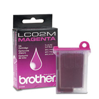 Brother LC-02M Magenta Ink Cartridge