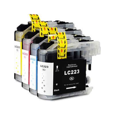 Brother LC223 Multipack Compatible LC-223 Printer Ink Cartridges