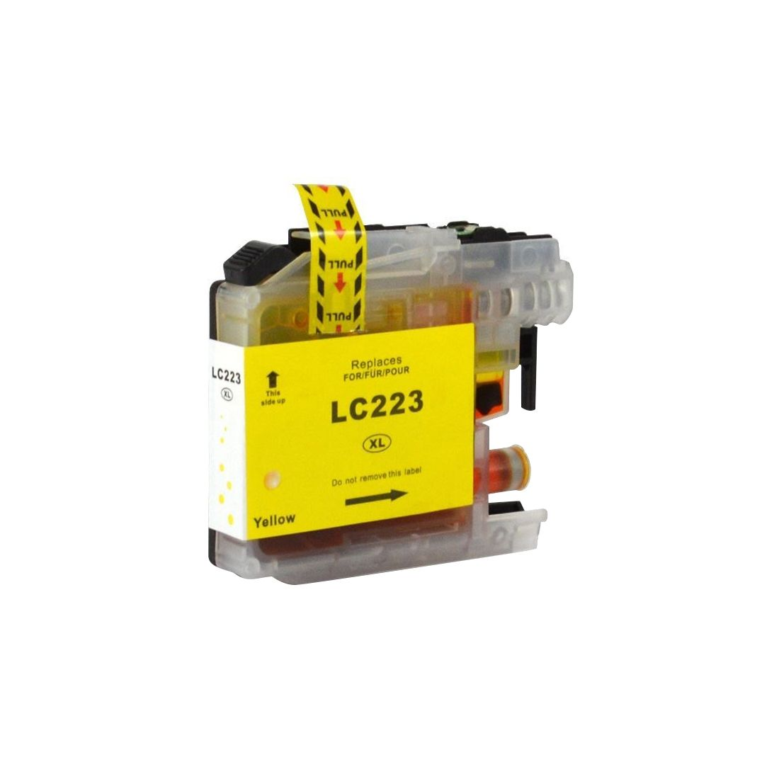 Brother LC223 Yellow Ink Cartridge Compatible LC223Y Inkjet Printer Cartridge