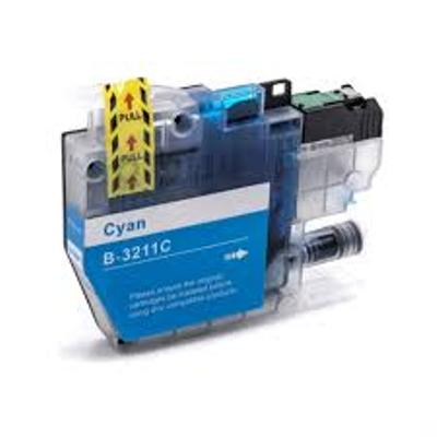 Brother LC3211C Cyan Ink Cartridge - High Capacity Compatible LC-3211C Inkjet Printer Cartridge