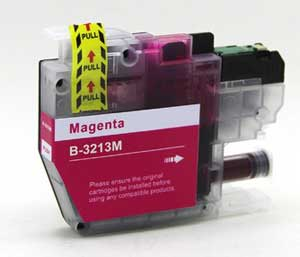Brother LC3213M Magneta Ink Cartridge - High Capacity Compatible LC-3213M Inkjet Printer Cartridge