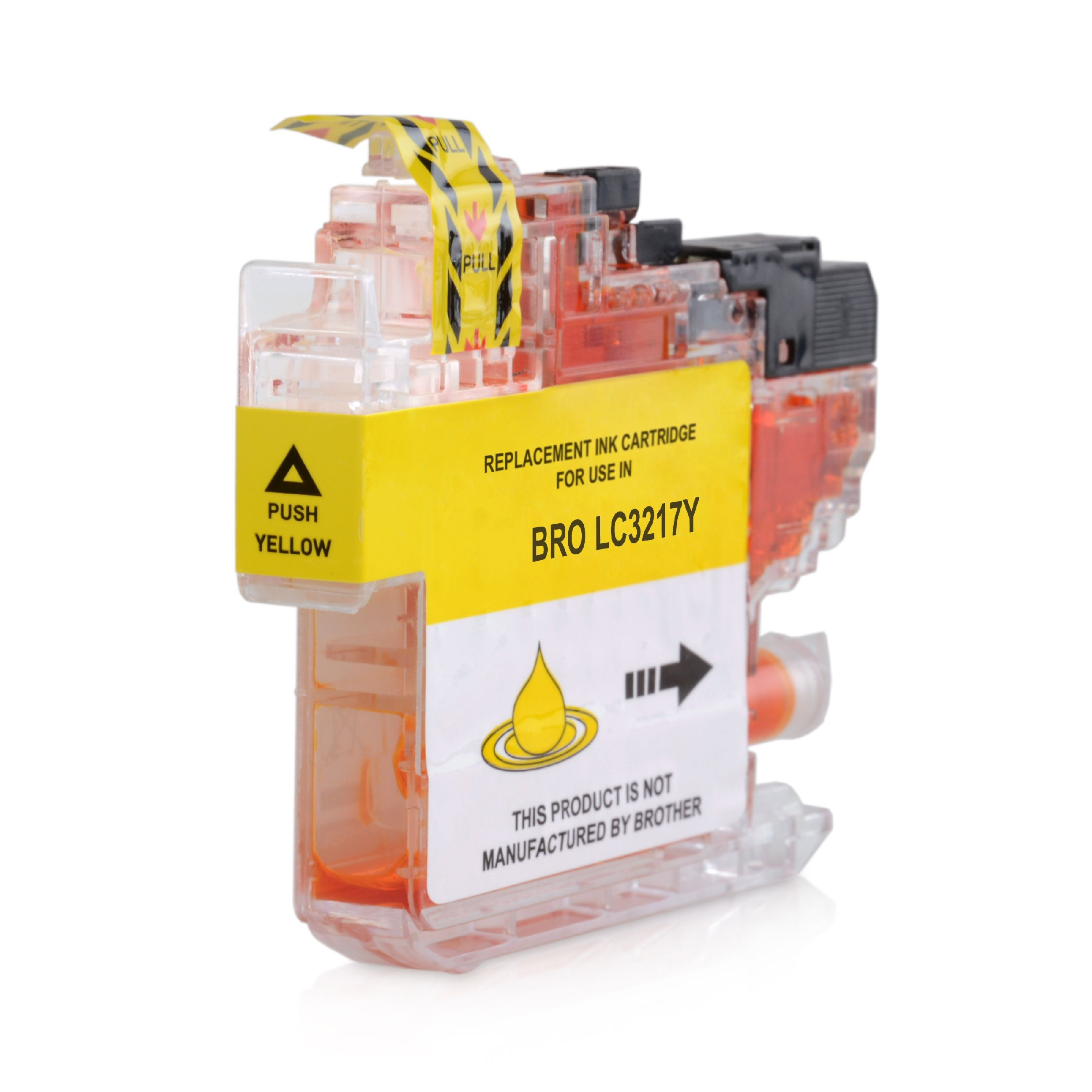 Brother LC3217Y Yellow Ink Cartridge - Compatible LC-3217Y Inkjet Printer Cartridge