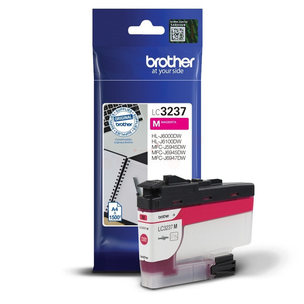 Brother LC3237M Ink Cartridge Magenta, LC-3237M Inkjet Printer Cartridge
