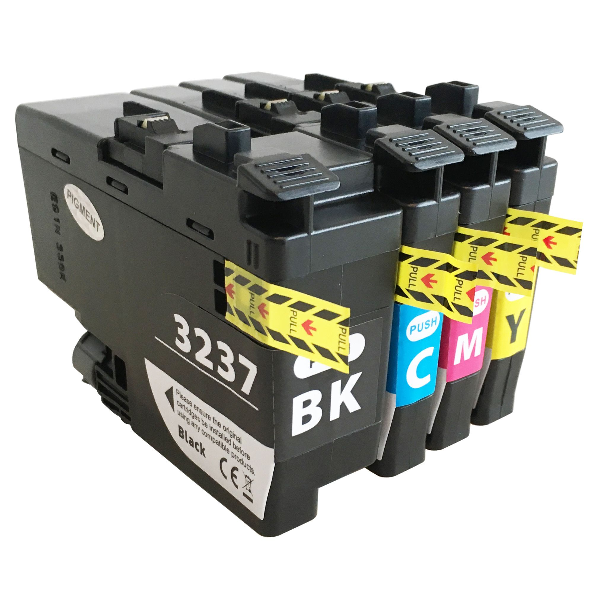 Brother LC3237 Multi Pack Ink Cartridge Compatible LC3237BK/LC3237C/LC3237M/LC3237Y)