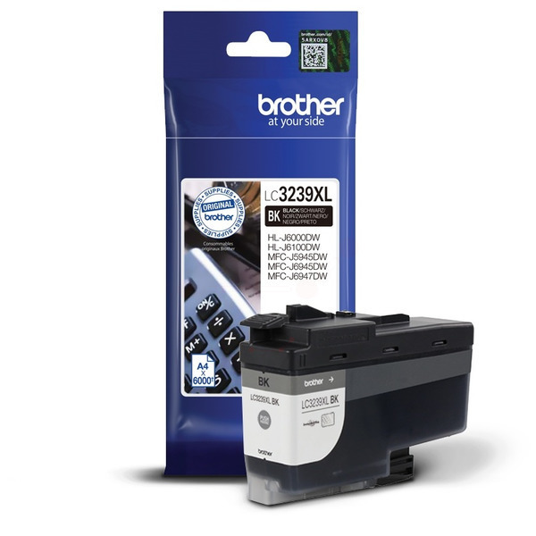 Brother LC3239XLBK Ink Cartridge Black, LC-3239XLBK Inkjet Printer Cartridge