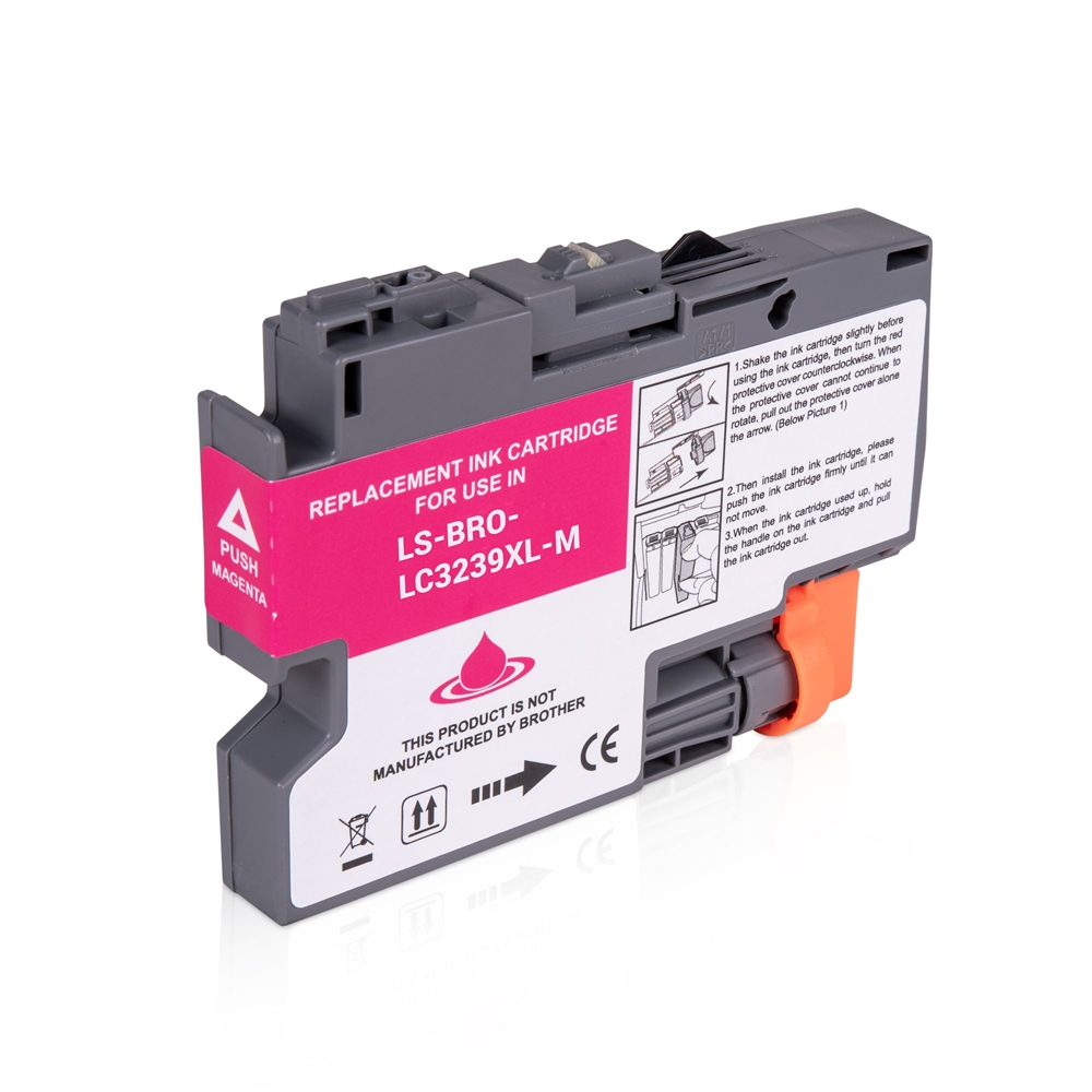 Brother LC3239XLM Magenta Ink Cartridge, Compatible LC-3239XLM Inkjet Printer Cartridge