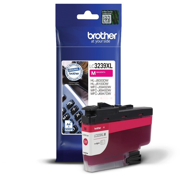 Brother LC3239XLM Ink Cartridge Magneta, LC-3239XLM Inkjet Printer Cartridge