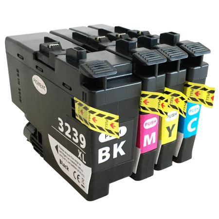 Brother LC3239 Multi Pack Ink Cartridge Compatible LC3239XLBK/LC3239XLC/LC3239XLM/LC3239XLY)