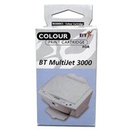 BT Multi Jet MJ3000CS Colour Ink Cartridge, 275 Page Yield