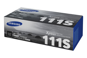 Samsung MLT D111S Toner Cartridge, 1K Page Yield