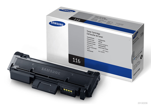 Samsung MLT D116S Standard Capacity Laser Toner Cartridge, 1.2K Page Yield
