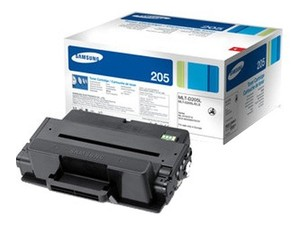 Samsung Extra High Capacity MLT-D205E Black Laser Toner Cartridge, 10K Page Yield