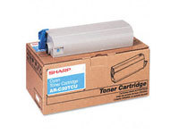 Sharp MX-27GTCA Cyan Laser Toner Cartridge, 15K Yield
