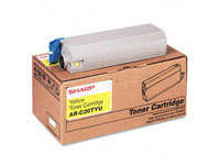 Sharp MX-27GTYA Yellow Laser Toner Cartridge, 15K Yield