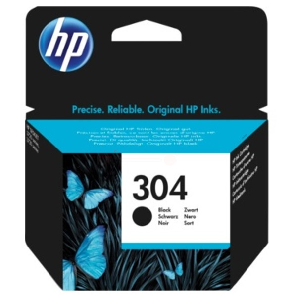 Black HP 304 Ink Cartridge N9K06AE