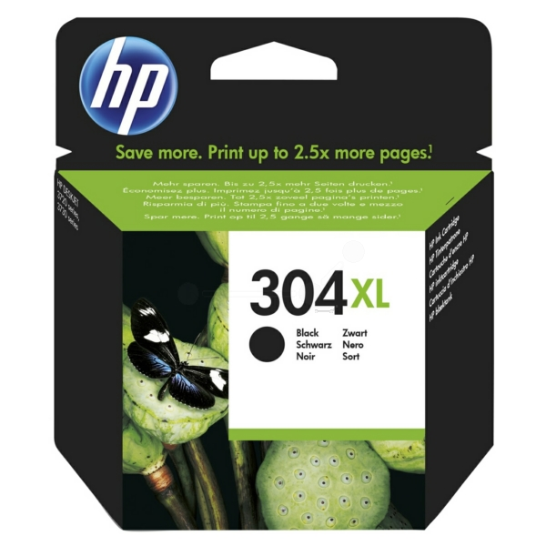 High Capacity Black HP 304XL Ink Cartridge N9K08AE