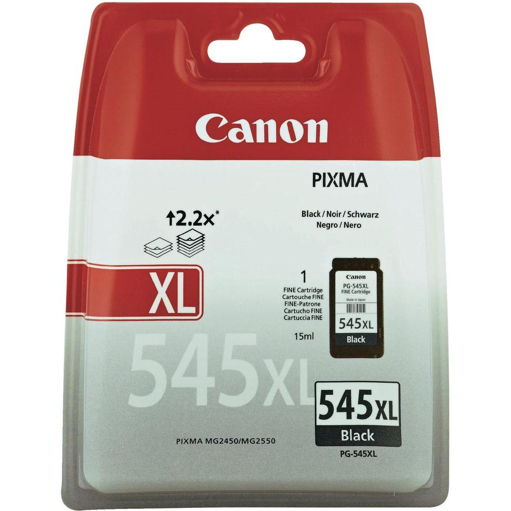 Canon PG-545XL High Capacity Black Ink Cartridge