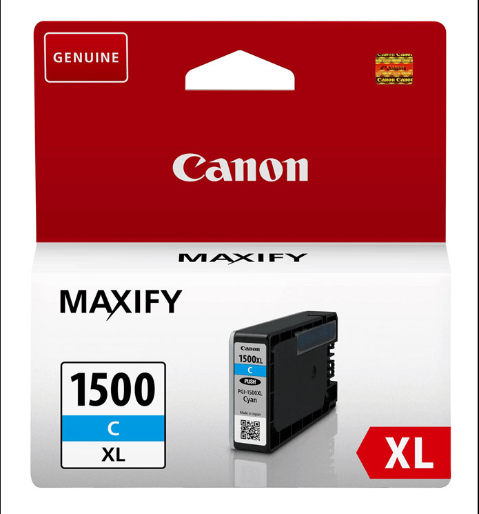 Canon DRHD XL Cyan Ink Cartridge - PGI-1500XL C